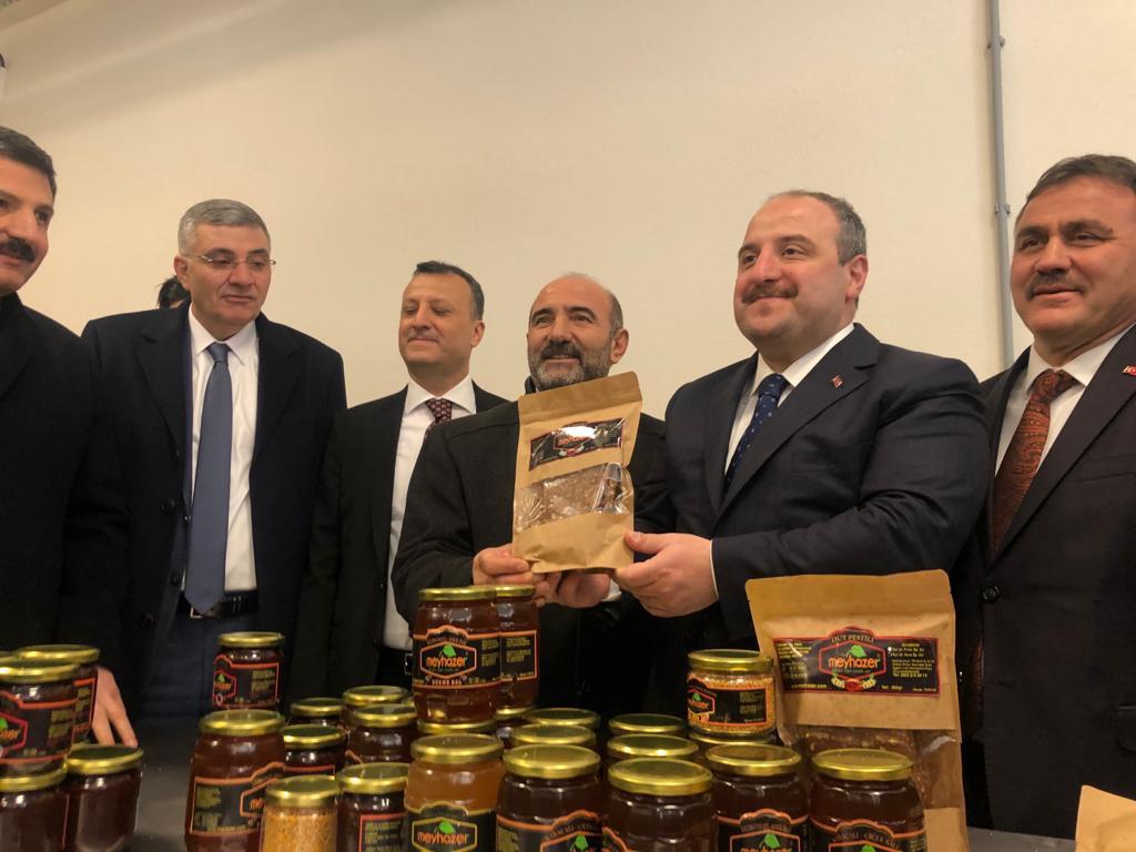 Sanayi ve Teknoloji Bakanımız Sn. Mustafa VARANK Üretim Tesisimizi ziyaret etti